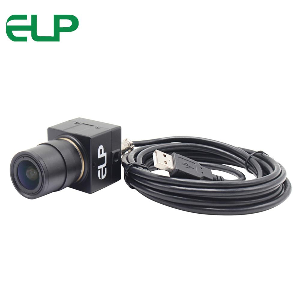 8MP cctv mini usb camera 2.8 12mm manual varifocal lens