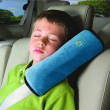 Детские Авто Подушки детские автомобиля Детская безопасность пояс защиты плеча площадку настроить сиденье автомобиля Подушки для детей Детские манежи