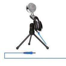 USB микрофон Plug& Play для домашней студии USB конденсаторный микрофон для Skype записи для YouTube голосовой поиск пара