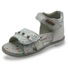 sandales fille support de voûte plantaire chaussures mode pour fille avec Strass Enfants PU Princesse Chaussures