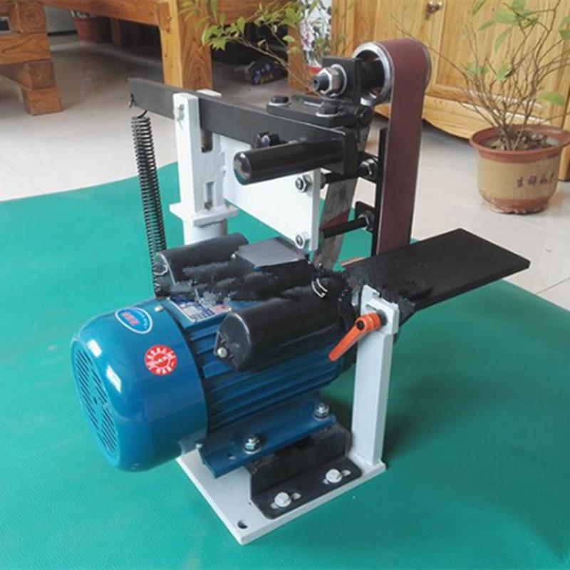 Belt Sander Machine Metalworking Grinding Machine Speed Regulation in Woodworking Machinery Parts from Tools