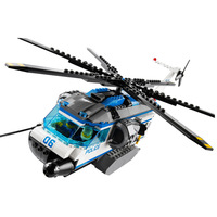 Bela 10423 Urban City Patrol Helicopter Building Block Toys Children Gifts Compatible Legoings Helicopter