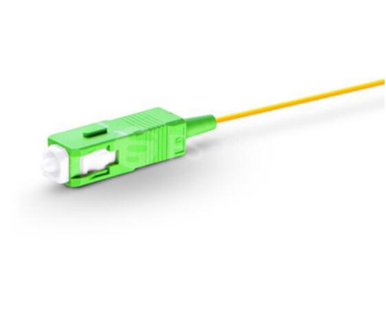 1m 50pcs SC APC Fiber Pigtail Simplex 9/125 0.9mm PVC Single Mode G657A Fiber Optical Cable PC Pigtail1m 50pcs SC APC Fiber Pigtail Simplex 9/125 0.9mm PVC Single Mode G657A Fiber Optical Cable PC Pigtail