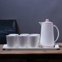 Ev ve Bahçe'ten Kahve Takımları'de Seramik fincan seti soğuk su kabı ev ısı sürahi Avrupa çay seti su oturma odası takımı