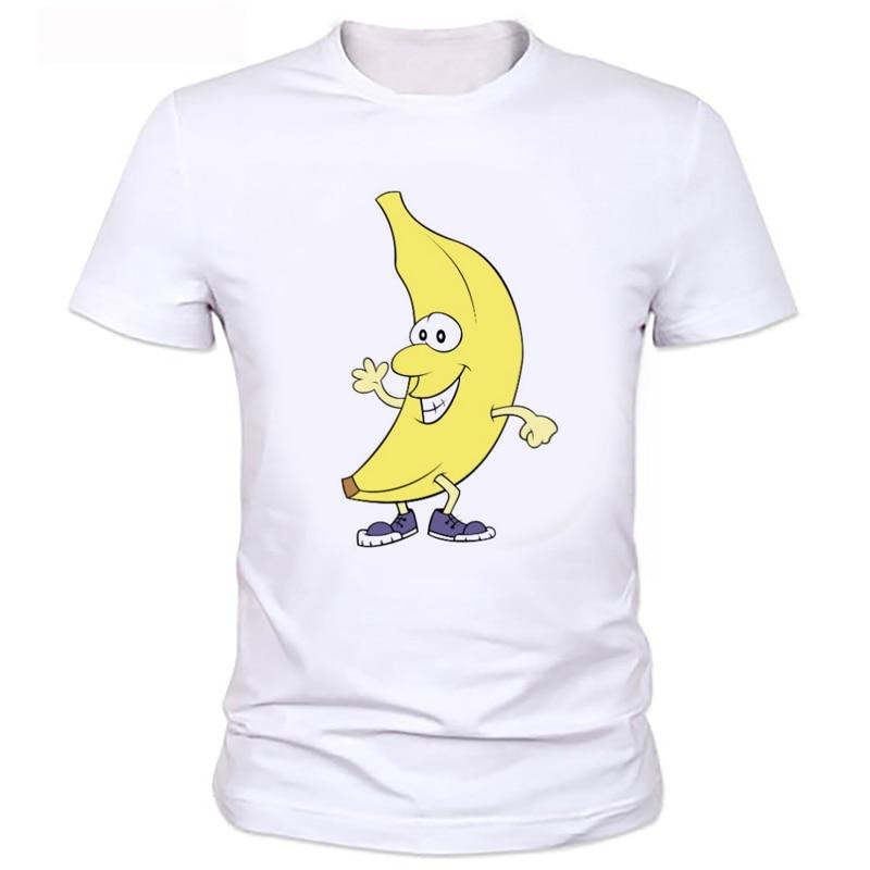T Shirts Cartoon Characters : Cartoon characters printed t shirts banana newest shirt