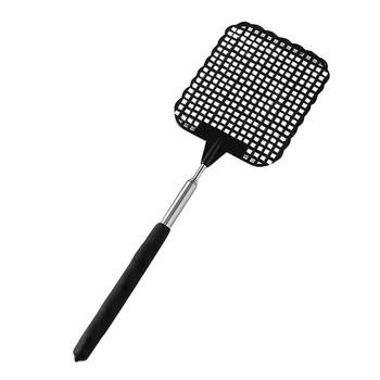 Plastikowe teleskopowe wysuwane muchy Swatter zapobiegają szkodnikom przeciw komarom odrzucanie szkodników narzędzie do zabijania owadów Fly Swatter Beat 9 25 tanie i dobre opinie Extendable Fly Swatter Plac
