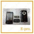 Novo telefone de substituição integral da habitação case capa para nokia n95 8 gb habitação com o botão livre de rastreamento no. + ferramentas