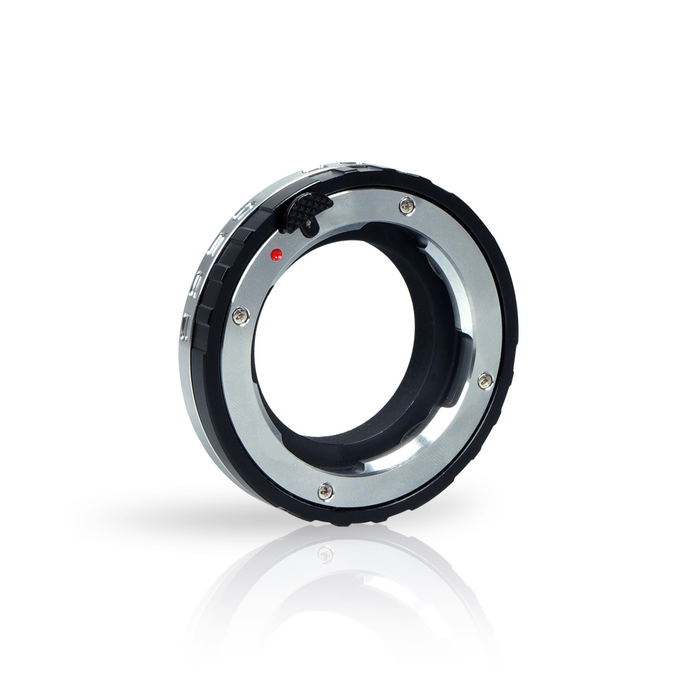 Commlite CoMix Macro Close-focus Lens Mount Adapter LM-E for Leica Zeiss Voigtlander M Series Lens Sony E-Mount Camera macro extension tube for sony e mount ac ms silver grey