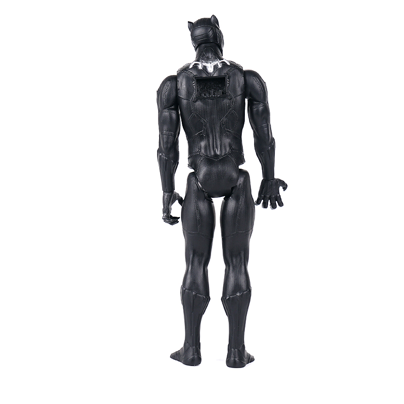 Marvel Toy Avengers Series 4 Black Panther Infinity War Thanos Action Figure Toy PVC Collectible Model Toys for Children in Action Toy Figures from Toys Hobbies