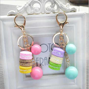 Free Shipping New Bag Accessory Acrylic Macarons Parts Colors Ball Pendant 5 Colors Pink  Blue Yellow Purple G - DISCOUNT ITEM  40% OFF All Category
