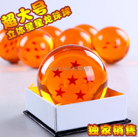 10pcs/set Dragon Ball Z Crystal Ball Action Figure Collection figures toys for christmas gift brinquedos with Retail box