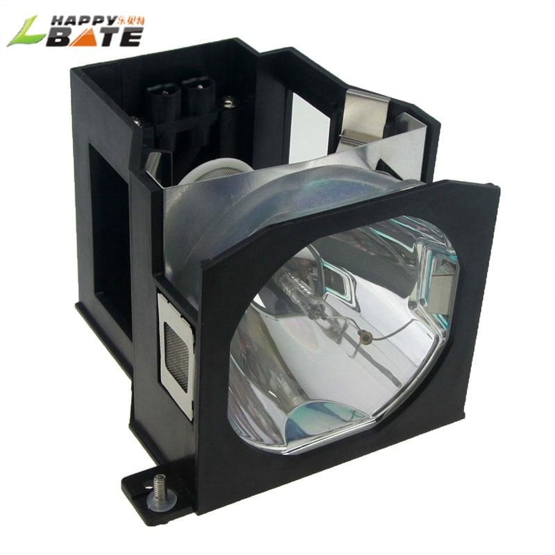 HAPPYBATE ET-LAD7700W Replacement Projector lamp with Housing for PT-D7000 PT-D7700 DW7700 L7700 LW7000 DW7000 DW7000E DW7000EK ec j6100 001 compatible replacement projector lamp with housing for acer p1165e p1165p happybate