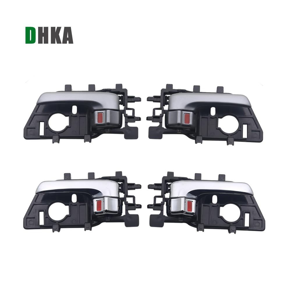 DHKA INTERIOR INSIDE DOOR HANDLE FOR KIA Forte Sedan 2010 2011 2012 2013; Hatchback 2011 2012-2013 Koup 10-13; Cerato 09-13(China)