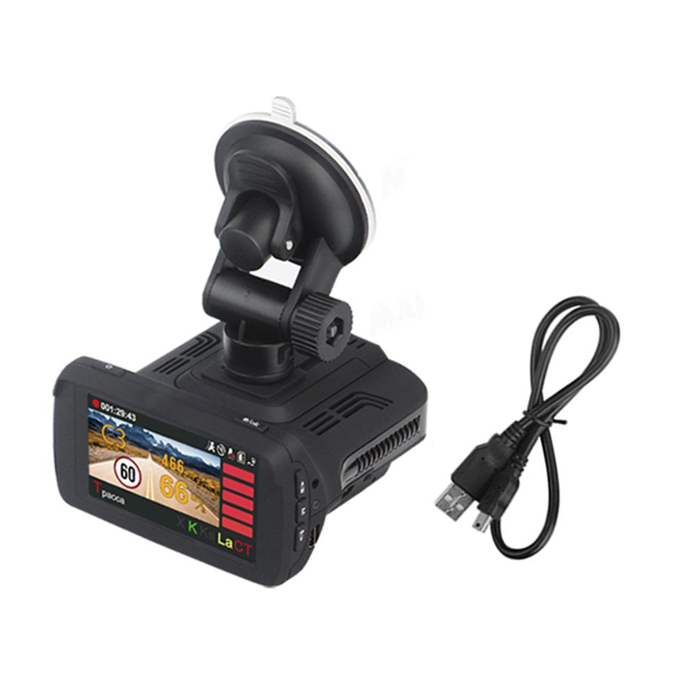New High Quality Car DVR Camera 3-in-1 Car GPS Track Detector Recorder Car Camera Recorder In Dash Camera Car Accessories