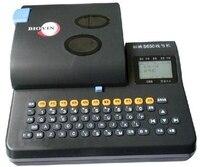 ПВХ трубки, принтер электронная принтер маркиратор для кабельного принтера маркер для кабеля S 650E