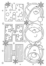 Santa Claus stamp Clear Stamp for Scrapbooking Transparent Silicone Rubber DIY Photo Album Decor K12(China)