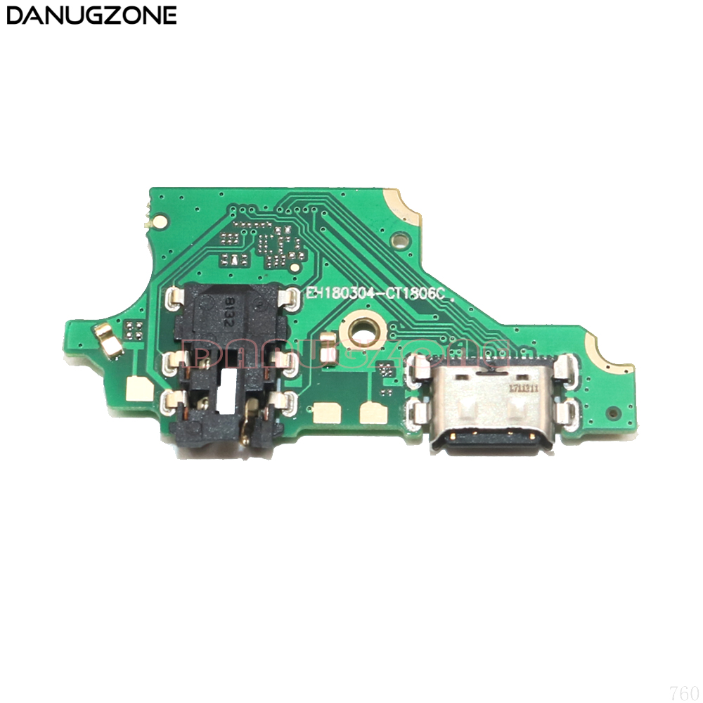 USB Charging Dock Port Socket Plug Connector Charge Board Flex Cable With Headphone Audio Jack For Huawei P20 Lite / Nova 3E