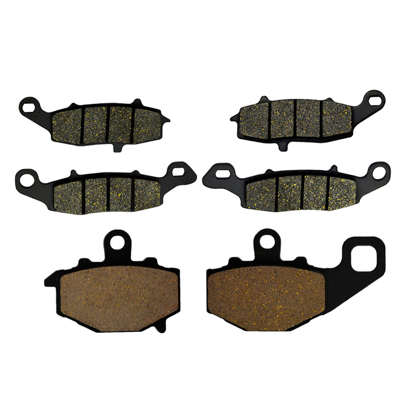 Motorcycle Front And Rear Brake Pads For Kawasaki ER 650 C/A (ER-6n) 2009-2014 ER650 ER6n Brake Disks motorcycle front and rear brake pads for honda vt250fl spada castel 1988 1990