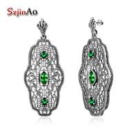 Szjinao Merk mode Vrouwen Verklaring Luxe Oostenrijkse Kristal Earring Voor Vrouwen Earring Fabriek Prijs Groothandel