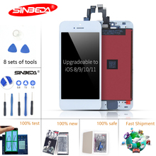 Sinbeda 5pcs/lot LCD For iPhone 5 5S LCD Display Touch Screen Digitizer Replacement for iPhone 5 5C 5S Display DHL Free Shipping 5pcs lot fnr key prog 4 in 1 key prog for n issan for f0rd for renault by dhl free shipping