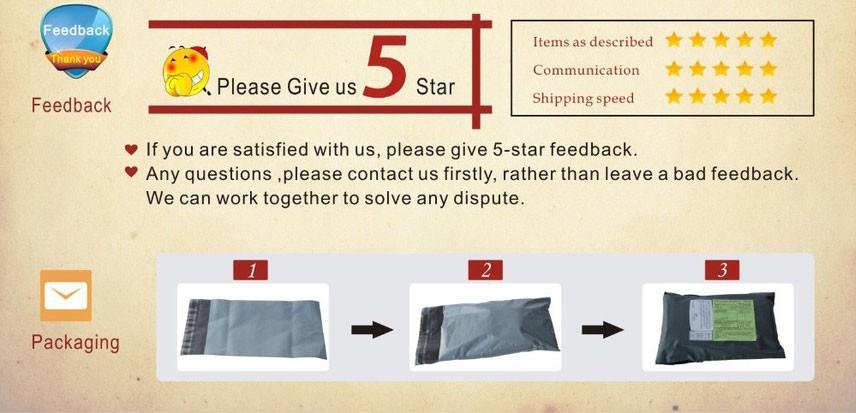 5 stars & packing