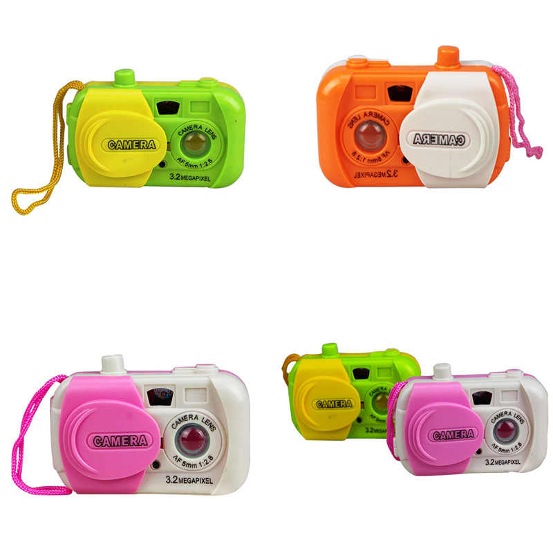 Fun Colourful Plastic Camera Centre Toy toddler Baby simulation Camera School Toys Kids Educational