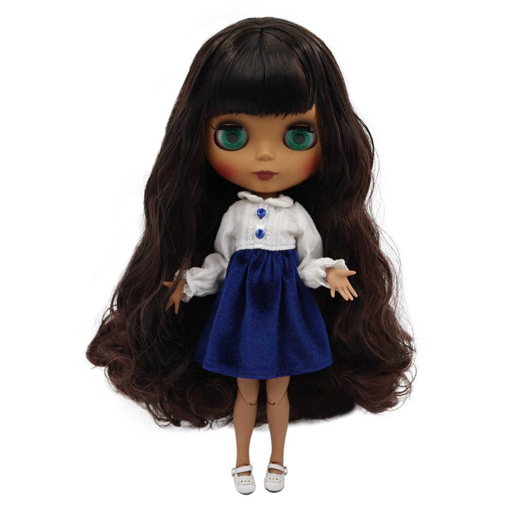 ICY Fábrica boneca blyth nu 30 centímetros Personalizado boneca 1/6 BJD boneca com o corpo conjunta mão define AB como presente preço especial