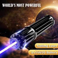 JSHFEI 450nm 5000 メートルの青色レーザーポインター Lazer 懐中電灯燃焼