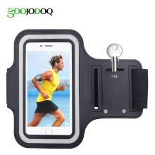 100pcs Waterproof Luxury Casual Running Riding Workout Cover Sport Gym Phone Case Armband For iPhone 6 6s 4.7 Holder Arm Band