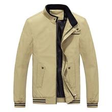 Zozowang Brand New Autumn Men Casual Jacket Coat Mens Fashion Washed 100% Cotton Brand-Clothing Jackets Male Coats Zipper Sales