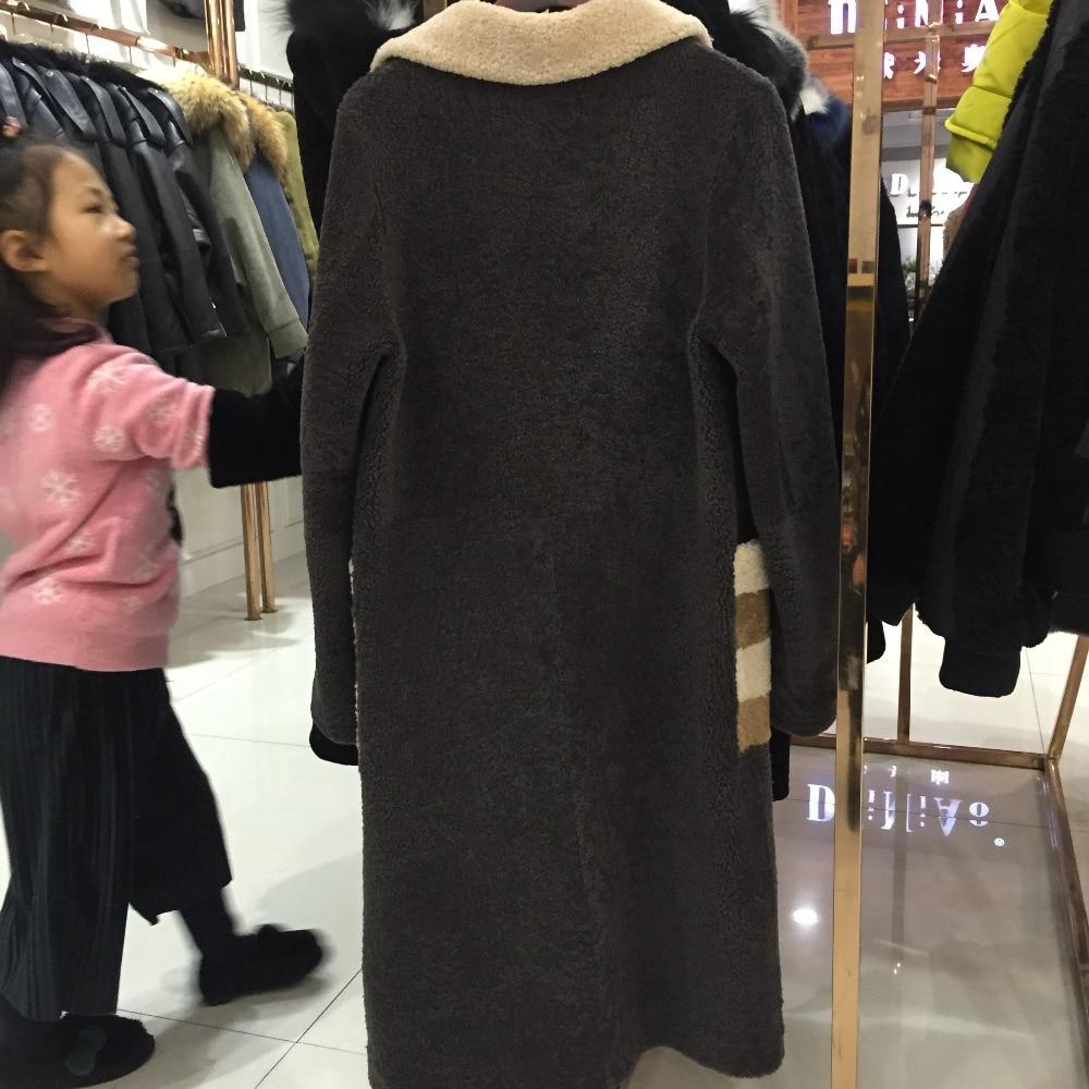 Veste Lady Multi De Manteau En Qualité Fourrure Mouton Cuir Sqxr Peau Fur Femmes Haute gEUaAxp