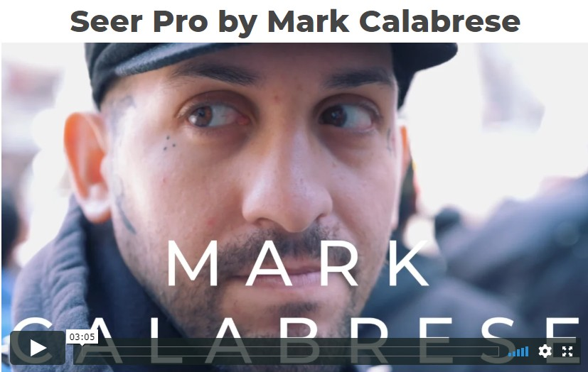Seer Pro By Mark Calabrese Magic Tricks