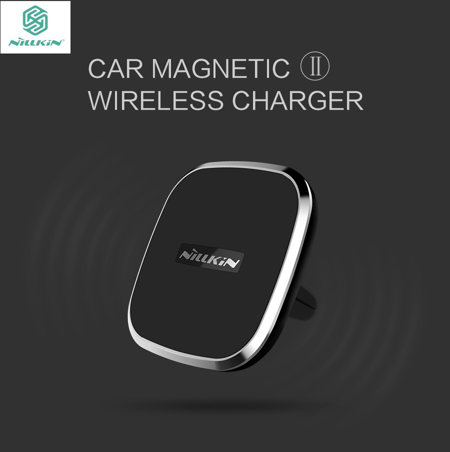 Magnetic car mount wireless charging iphone x 4