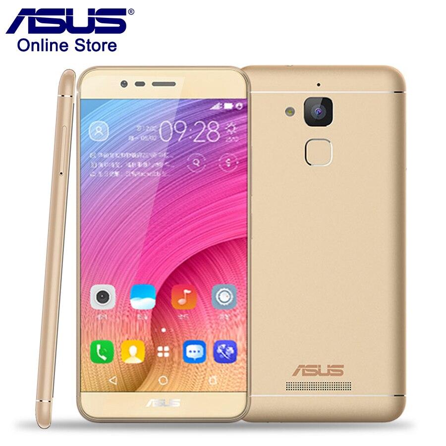bilder für Auf Lager ASUS Zenfone Pegasus 3X008 ZC520TL 2 GB 16 GB Smartphone 5,2 Zoll 4100 mAh Fingerprint ID MT6737 Quad Core Android 6,0