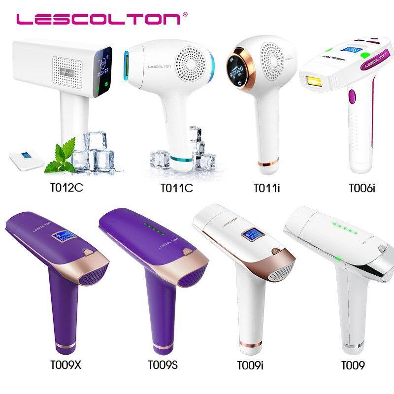 Lescolton série original usine IPL épilateur 2in1 laser épilation machine permanente bikini corps sous les bras pour les femmes et les hommes