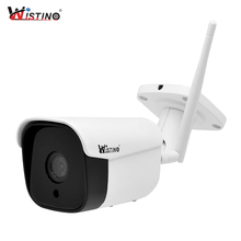 Wistino 1080P IP Camera Outdoor Wireless Metal Bullet 1MP Video Monitor CCTV Surveillance Security Camera WiFi Motion Detection wistino 1080p wifi camera nanny camera black p2p ip security clock ios android motion detection home security wireless camera