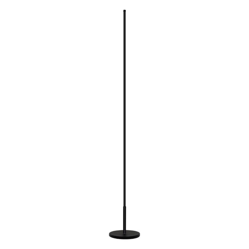 Скандинавские минималистичные светодиодные торшеры, стоячие лампы для гостиной, светодиодные черные/белые алюминиевые люминесцентные лам... - 5