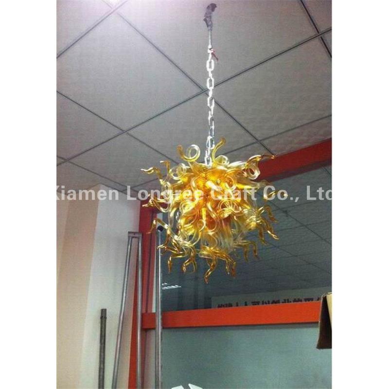 New Style Casa Lampada di Design Ha Condotto La Luce Dale Chihully Stile Mano di Arte del Vetro Soffiato Luce Lampadario