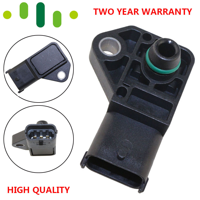 2.5BAR MAP Sensor Manifold Absolute Boost Pressure For Vauxhall Opel ASTRA G H Combo Corsa Meriva 1.7 CDTI 0281002487 9728786