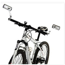 Aluminum Alloy Bicycle Rearview Mirror Bike Adjustable Handlebar Accessories Parts For Road Mountain