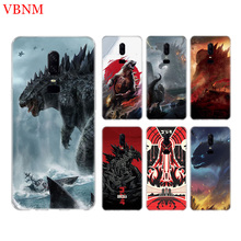 Godzilla Gojira Funny Phone Back Case For OnePlus 7 Pro 6 6T 5 5T 3 3T 7Pro 1+7 Art Gift Patterned Customized Cases Cover Coque
