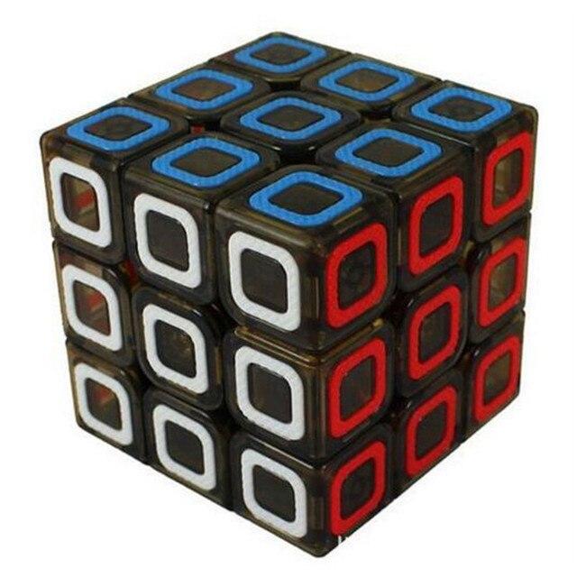 Qiyi mofangge Ciyuan 3x3x3 куб Скорость Cube прозрачный черный Cubo magico образования Игрушечные лошадки С бесплатной доставкой Прямая доставка