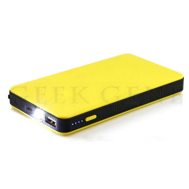 Portable Upgrade Best 12V Car Jump Starter USB Power Bank Powerful 300A Peak Petrol Engine Starter SOS Flashing Lights Free Ship