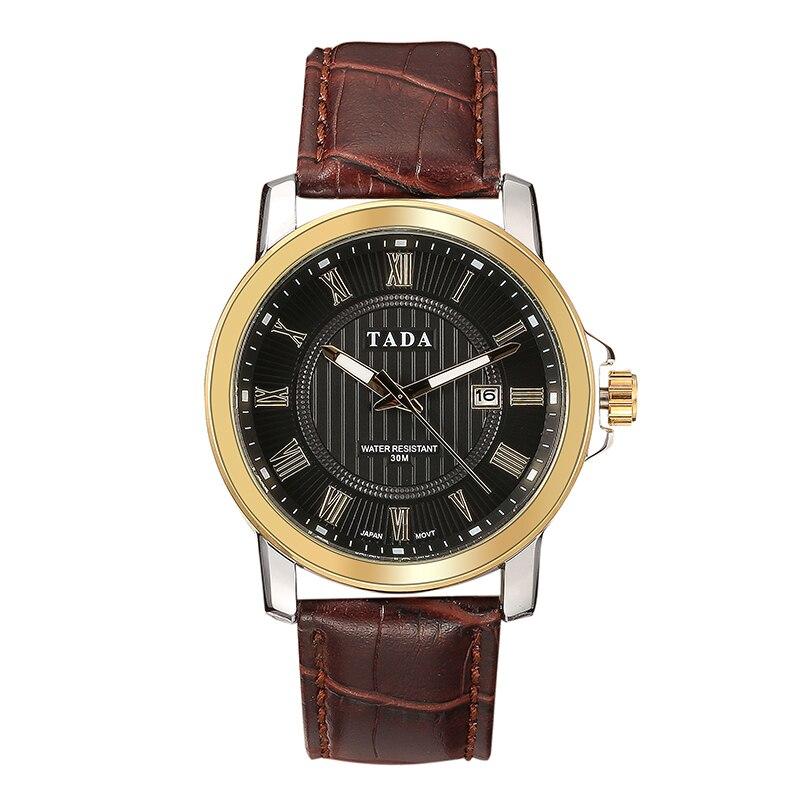Japan Movement 3ATM Wateproof Top Luxe Merk TADA Horloges Heren Hot - Herenhorloges - Foto 3