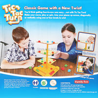 Intelligent Tic Tac Turn Classic Game With A Spin Funny Board Game Interactive Game Educational Toys