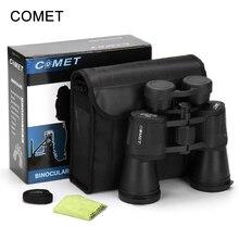 Fois élevés COMET 20X50 HD étanche portable jumelles télescope chasse télescope tourisme optique sports de plein air oculaire