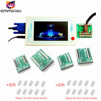 Official TV160 LVDS Turn VGA Converter (With LCD Screen Display Version) LCD/LED TV Motherboard Tester Tool + 5 Adapter Planes