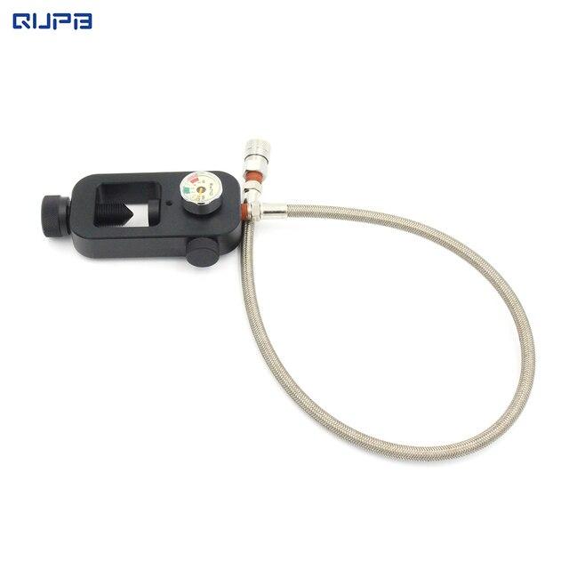 Qupb Scuba ига Пейнтбол ига клапан для акваланг воздуха заполнить с 10 ''/20'' SS оплеткой с QC Бесплатная доставка SCB003