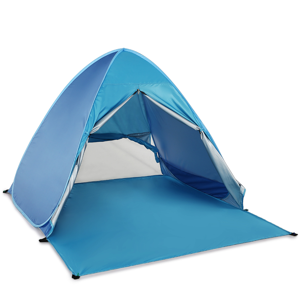 Image 3 - Lixada Automatic Instant Pop Up Beach Tent Lightweight UV Protection Sun Shelter Tent Cabana Tents Outdoor Camping-in Tents from Sports & Entertainment