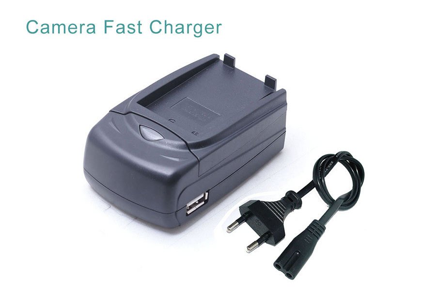 icv Digital Multi-Function Camera Camcorder Charger Fit For Canon BP718 BP727 Battery Adapter 02